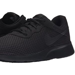 NIKE MENS TANJUN BLACK/ANTHRACITE/BLACK 10.5M